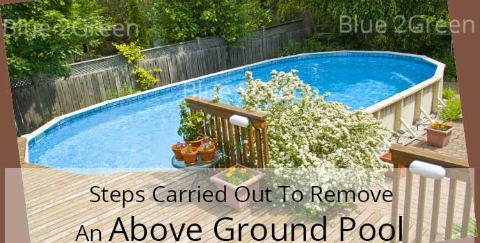 Above Ground Pools Pool Fill In Pool Removal And Pool Demolition Company