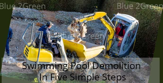 demolish swimming pool