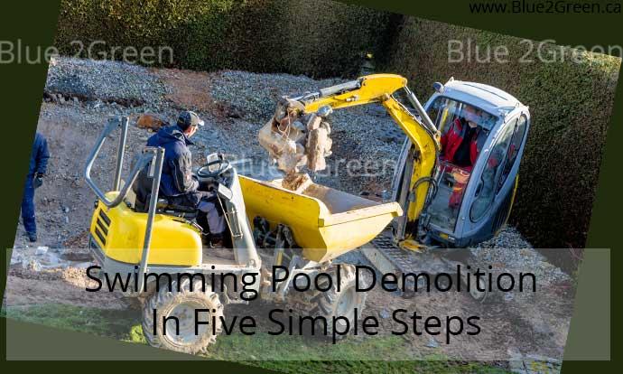 demolish swimming pool