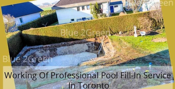 Pool fill in Toronto