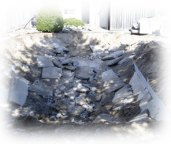 Procedure how to fill in pool - concrete sides are broken
