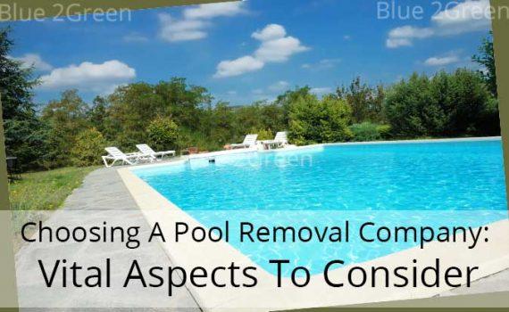 pool demolition company
