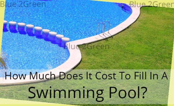 Swimming pool fill in service