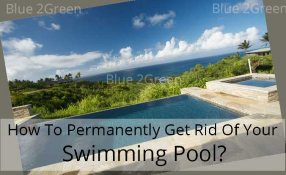 swimming pool permanent removal